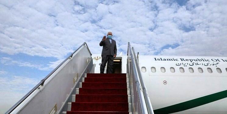 ظریف راهی بغداد شد