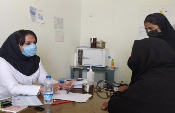 جهادگران دانشگاه علوم پزشکی زاهدان در منطقه سیستان به 260 نفر خدمت رسانی کردند